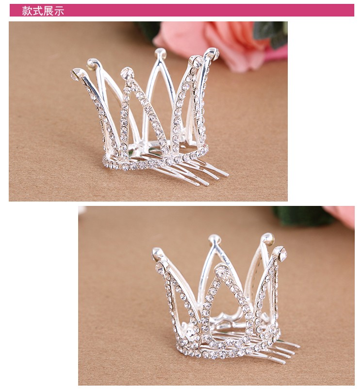 HTB18SmBNXXXXXbbapXXq6xXFXXXx Dainty French Rhinestone Crystal Mini Tiara Hair Accessory For Girls/Women