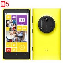"Nokia Lumia 1020 Original 41.0MP Camra 32GB ROM 2G RAM Phone 4.5"" Touch Screen Dual Core GPS WIFI Free Gift Free shipping"