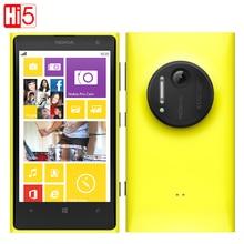 """Nokia Lumia 1020 в Исходном 41.0MP Камеры 32 ГБ ROM 2 Г RAM Телефон 4.5 """"сенсорный Экран Dual Core GPS WIFI Бесплатный Подарок Бесплатная доставка"""