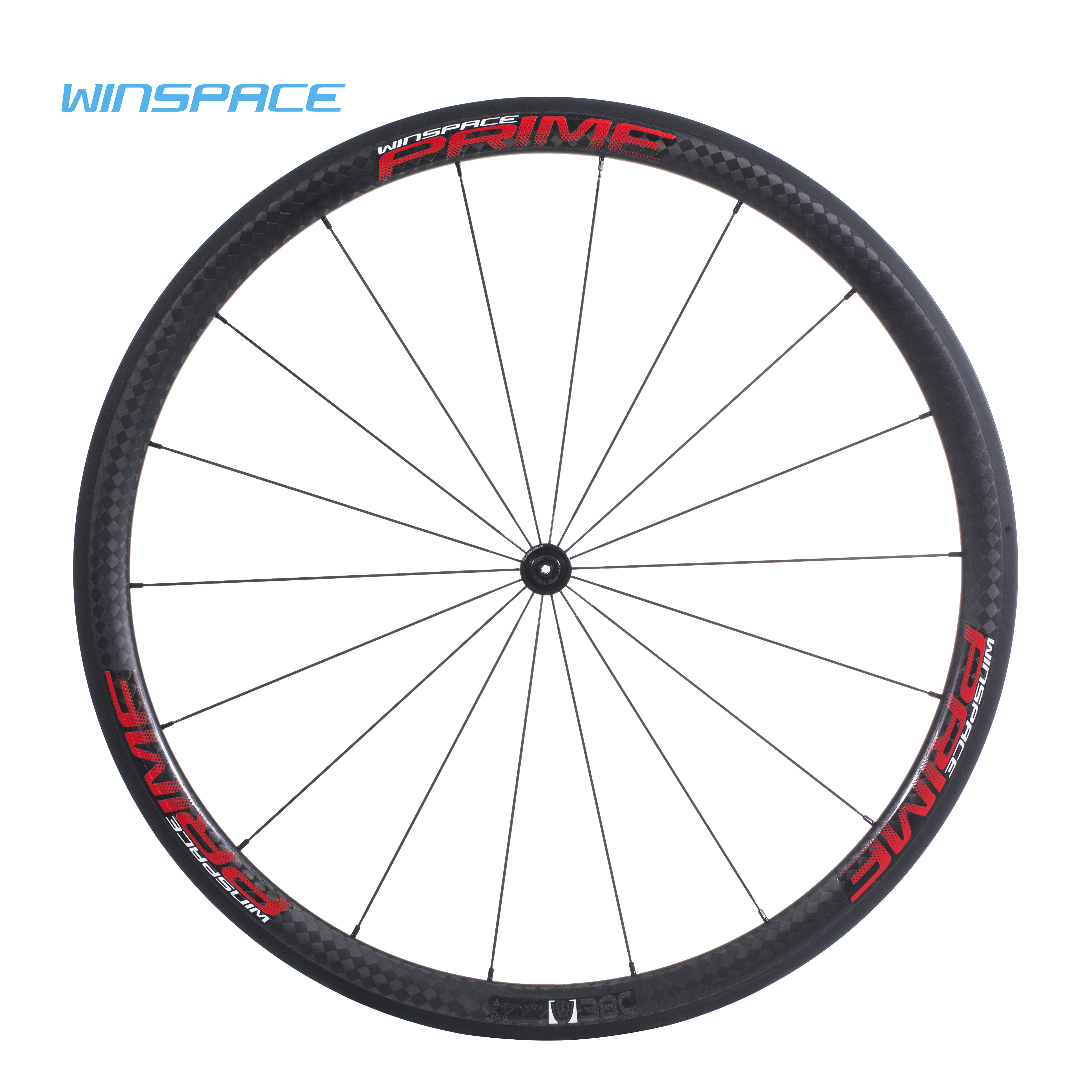 Winspace DT 350S Carbon Road Disc Brake Bike Wheel 25mm Width Tubular Clincher Tubeless 700c Full Carbon Fiber Bicycle Wheelset