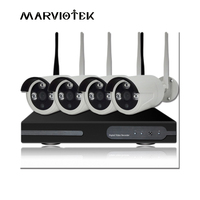 4CH 1080P Wireless NVR Kit Security System Wifi CCTV System 8CH 720P 960P 1080P IP Camera