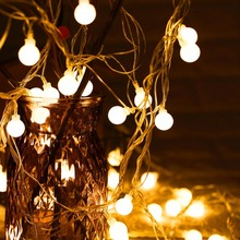 FENGRISE Christmas Led Light String Tree Decoration Fairy Lights Outdoor LED New Year 2019 Navida