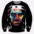 Newest 3D Star Print LeBron James Artwork Tie-Dye Graffiti Sweatshirts Men/Women Casual Long Sleeve Jumper Hoody Tops