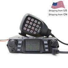 QYT KT 780PLUS Rádio Móvel VHF 136 174MHz ou UHF 400 480MHz 100 W/75 W walkie Talkie transceptor KT780PLUS