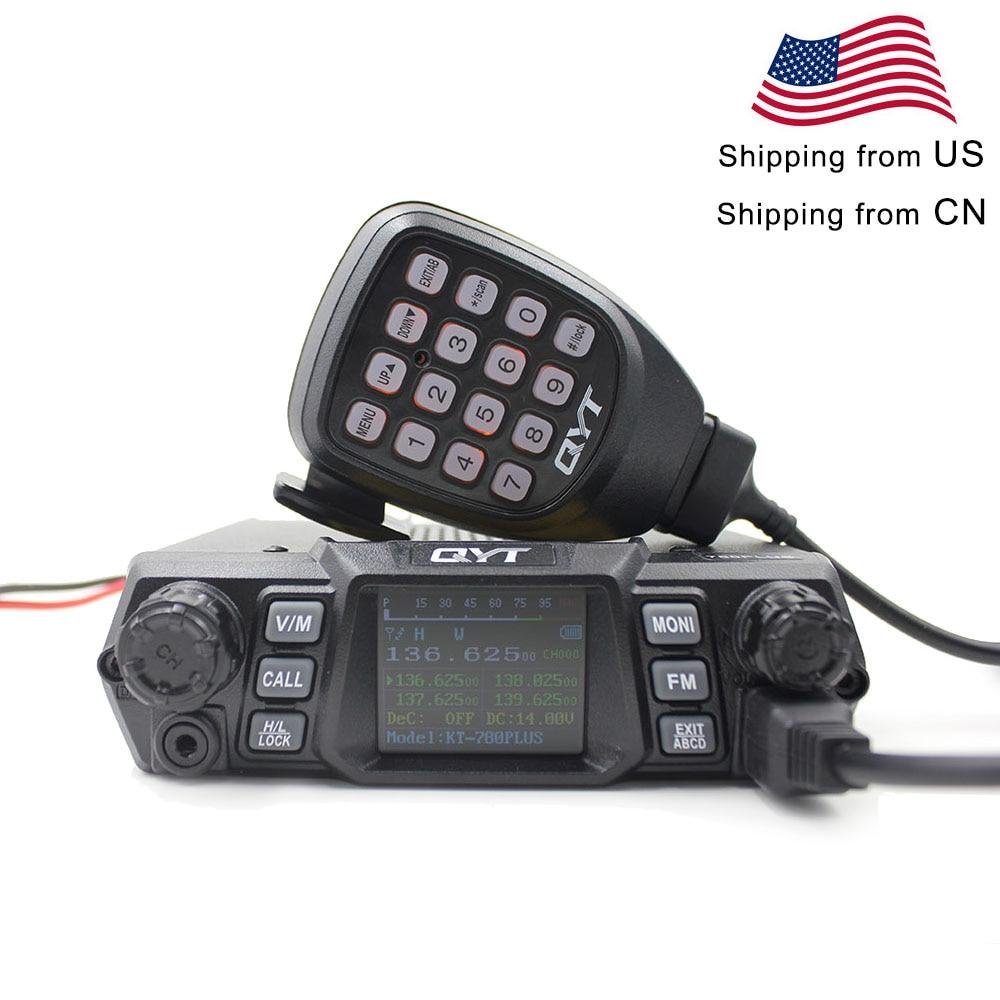 QYT Mobile Radio KT-780PLUS VHF 136-174MHz Or UHF 400-480MHz 100W /75W Walkie Talkie KT780PLUS Transceiver