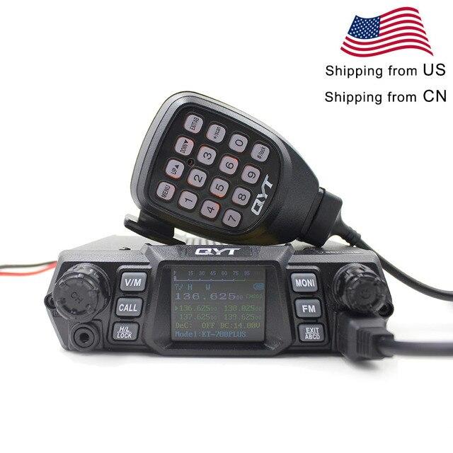 QYT Mobile Radio KT 780PLUS VHF 136 174MHz or UHF 400 480MHz 100W /75W Walkie Talkie KT780PLUS transceiver