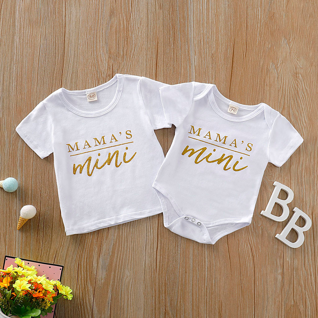Newborn Infant Toddler Baby Jumpsuit Summer Romper Sibling Twin Brothers Sisters Baby Girls Boys Meisje Clothes Outfits Sets L5