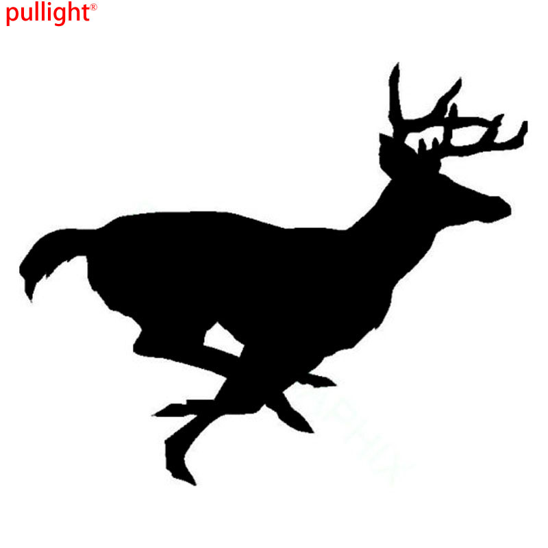15.2*12.6CM Running Buck Deer Fashion Stickers Car Styling Decal Hunting Vinyl Car Sticker