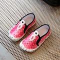 Kids Shoes Tenis Infantil 2017 Новая Весна Плед Цифровой Дизайн Мода Мальчики Светящиеся Кроссовки Детей Shoes Girls Shoes EU26-30