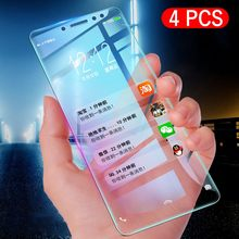 4pcs/Lot 9H Tempered Glass For Huawei P30 P20 Pro P10 P9 P8 Lite Plus 2017 2015 Explosion Proof Screen Protector Protective Film(China)