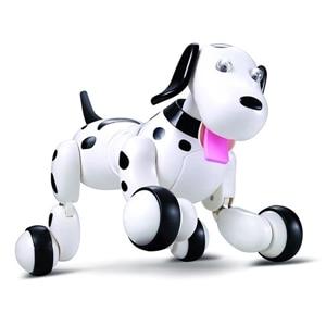 JG 777-338 RC robot inteligente perro RC simulación inteligente mini perro 2.4 GHz