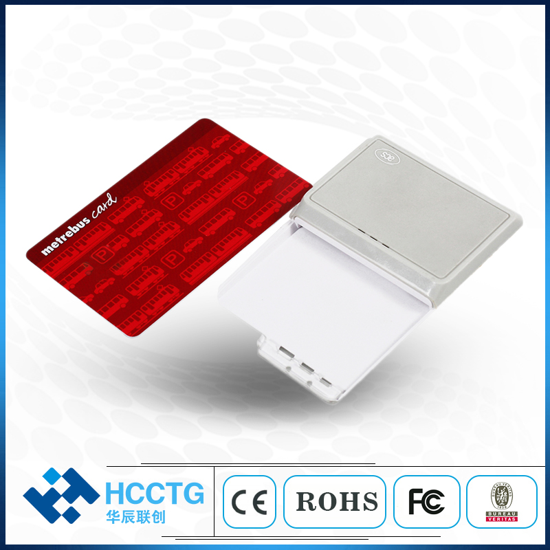 ACR3901U-S1 Bluetooth lecteur de carte à puce IC lecteur de carte de Contact livraison directe lecteur de carte à puce pour système d'exploitation Windows Linux