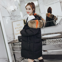 Di Polyester No Single Breasted High Waist Standard Limited 2018 Winter New Korean Maternity Dress Long Fund Cotton Clothes