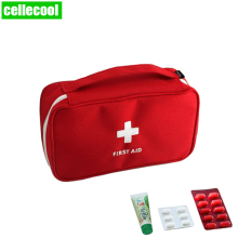 цена на Portable Camping First Aid Kit Emergency Medical Bag Outdoor Travel Survival kit Empty bag  Storage Case Waterproof Car kits bag