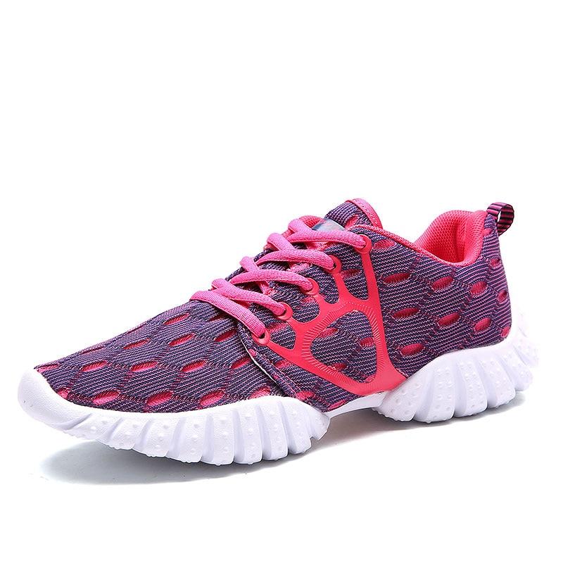 2017 neue sommer zapato frauen atmungsaktiv leichte mesh zapatillas - Damenschuhe - Foto 2