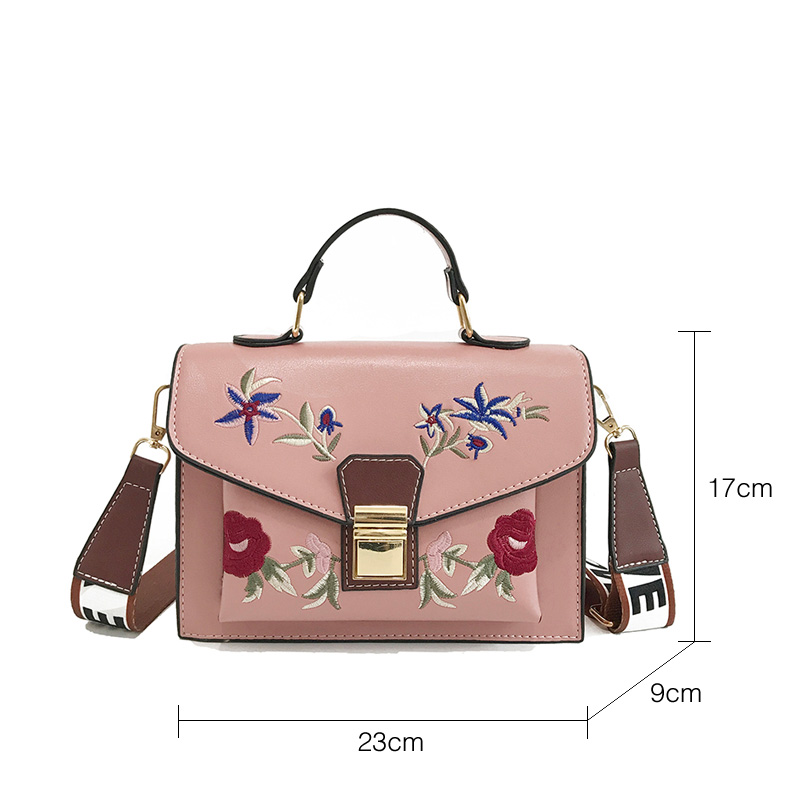 Fularuishi 2019 New HandBags Lady Pu Leather Printing Women Bags Fashion Shoulder Bags Female Design Bags 4