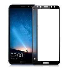 9D Screen Protector Tempered Glass For Huawei P30 pro P10 P20 lite Mate 20 X Screen Protective Film For Honor 10 9 Camera Lens(China)