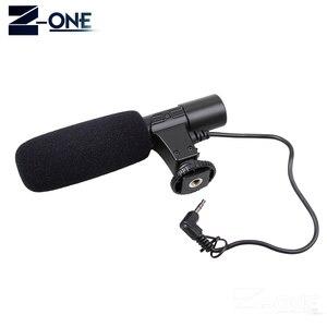 Image 3 - Mic 01 microfone profissional da câmera do condensador para canon eos m2 m3 m5 m6 800d fr 750d 77d 80d 5ds r 7d 6d 5d marca iv