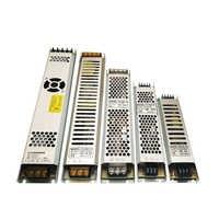 LED Power Supply DC 12V Lighting Transformers 60W 100W 150W 200W 300W AC190-240V Ultra Thin Driver For LED Strips