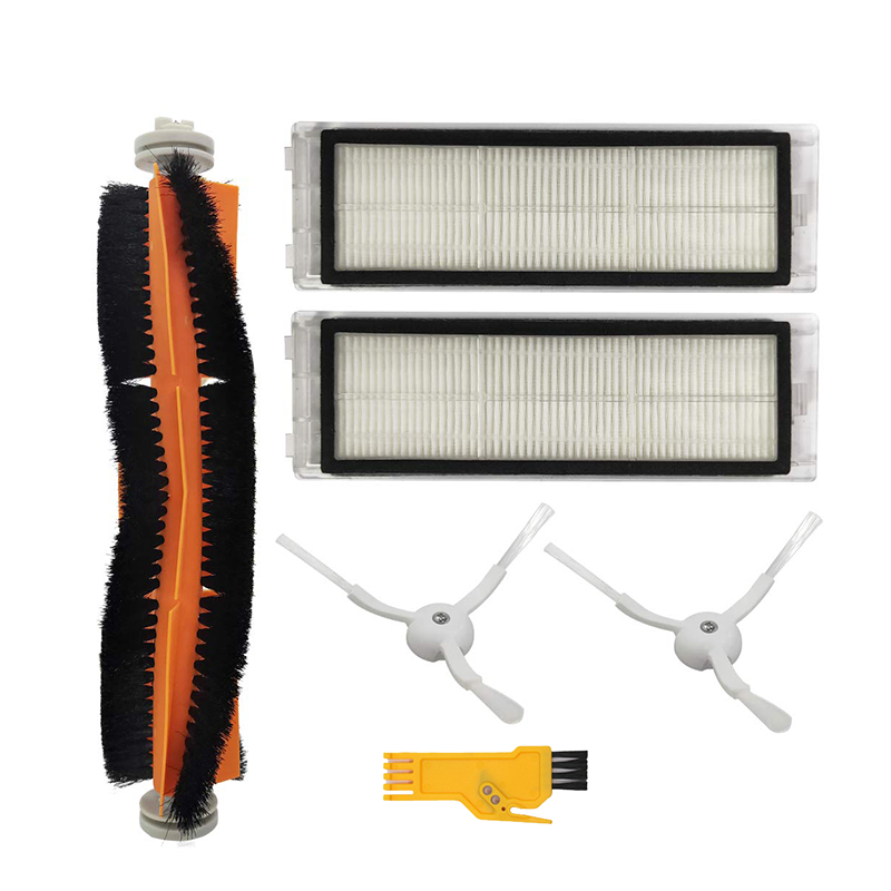 TOD-Acessório quente Para Xiao mi Roborock S50 S51 S55 S5 Xiaowa mi mi jia E25 C10 Robotic Vacuum substituição de Peças de Reposição