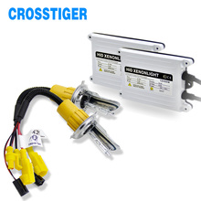 цена на New 9003 H4 Bi Xenon H7 HID Ballast Conversion kit Canbus Error Free H8 H9 H11 9005 9006 HB4 H1 xenon Lights Lamp 55W 6000K
