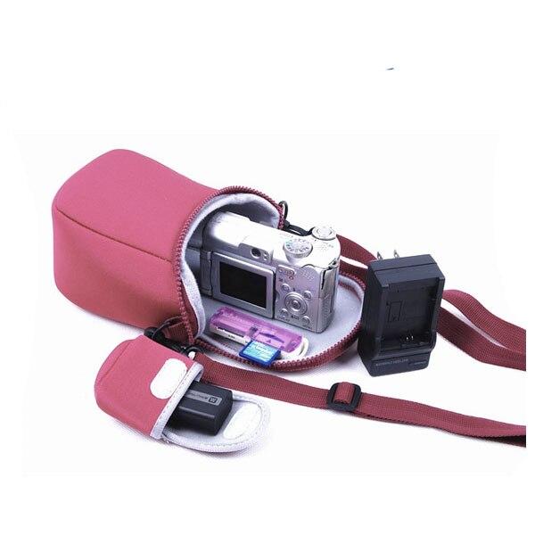 Bolsa de la cámara para Sony A5100 A5000 A6300 A6000 H300 HX90 HX60 HX50 RX100 RX100M4 M4 M3 M2 NEX3 NEX3N NEX5 NEX6