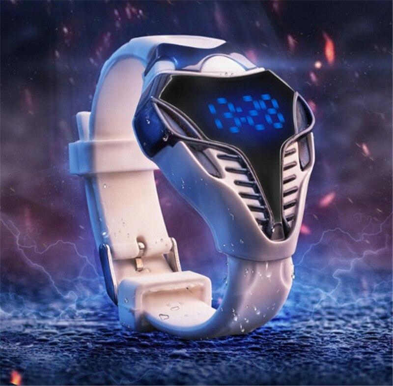Luxe merk LED militaire horloge Datumweergave Snakehead vorm Sport - Herenhorloges - Foto 2