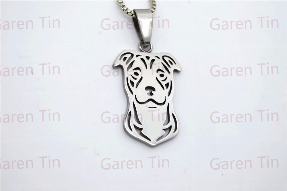 American pit bull terrier pendant stainless steel natural ears american pit bull terrier pendant stainless steel natural ears pitbull charms pit bull dog in pendants from jewelry accessories on aliexpress aloadofball Choice Image