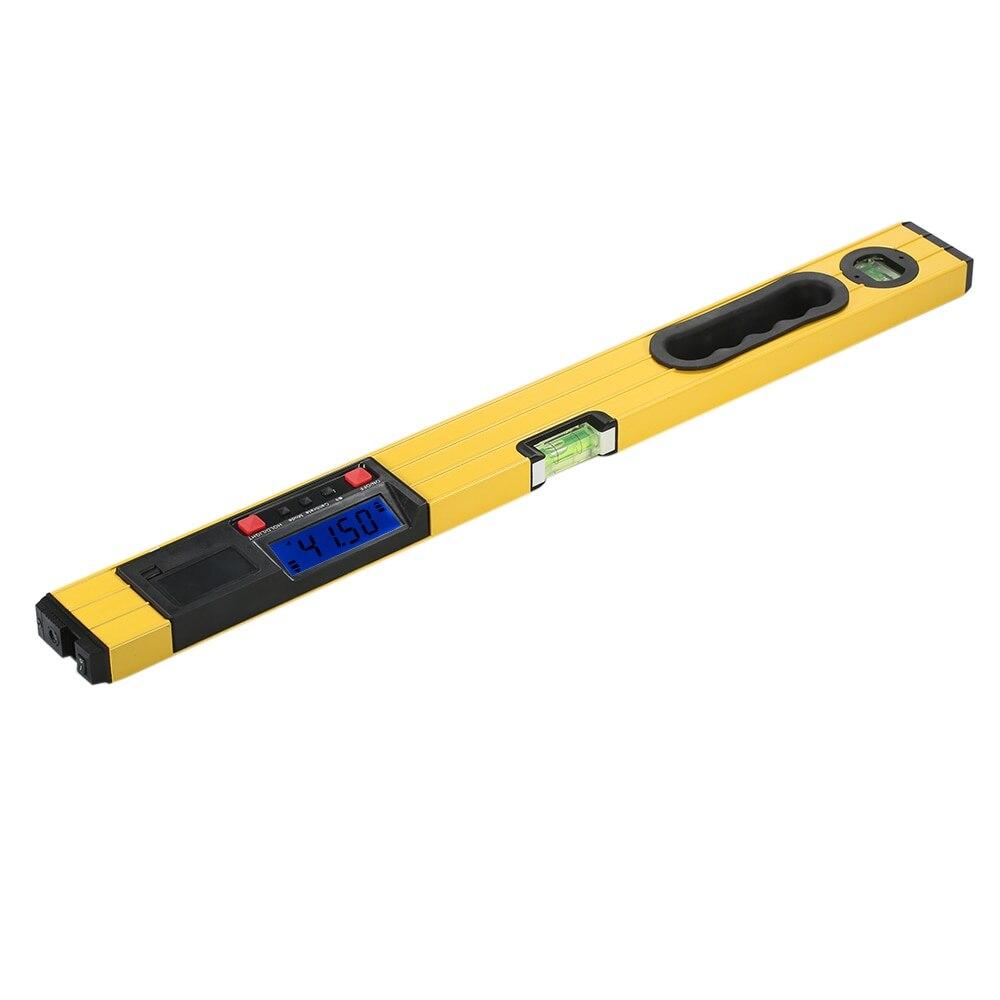 Niveau à bulle 600mm règle de niveau Laser numérique jauge d'angle trouveur Horizontal Vertical ligne transversale Laser niveleur Pro ruban à mesurer