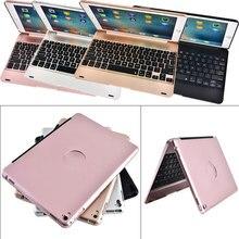 Neue abs ultra slim tragbare drahtlose bluetooth 3,0 tastatur + case abdeckung halter für ipad air2/pro 9,7 zoll qjy99