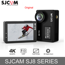 цена на 100% Original SJCAM SJ7 STAR Wifi 4k Touch Screen Remote Ambarella A12S75 30M Waterproof Sports Action Camera Cam Mini DVR