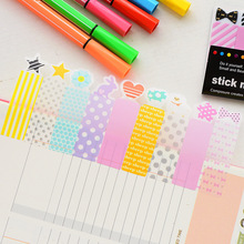 PVC sticky Guest Article Cute Stationery Papel Vertical Cruncher Cartoon Posted Sticky Notes