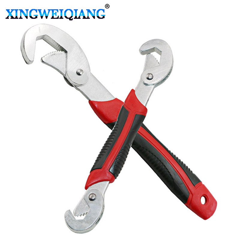 XINGWEIANG Multi-Function Universal Wrench Adjustable Grip Wrench set 9-32mm ratchet wrench Spanner hand tools
