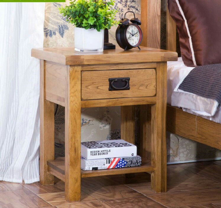 Us 419 99 Coffee Tables Living Room Furniture Home Solid Wood Bedside Table Be End Minimalist Modern Desk 50 41 59 Cm In