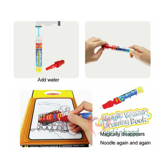 Nett Malen Mit Wasser Malbüchern Fotos - Ideen färben - blsbooks.com