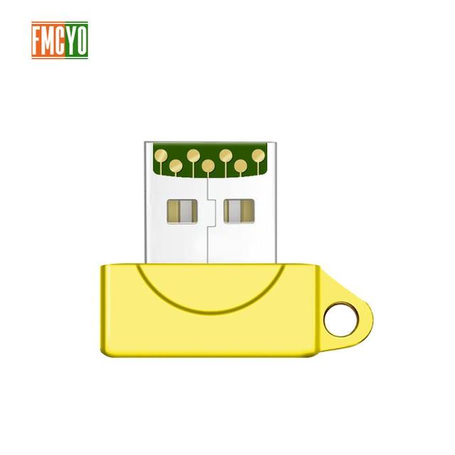 High Speed Mini USB 2.0 Micro SD TF T Flash Memory Card Reader Adapter Aug04 Dropship