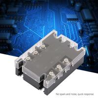 Solid State Relay TSR 25AA H Three phase SSR Solid State Relay AC to AC 25A 90 250VAC to 24 480VAC voltage relay