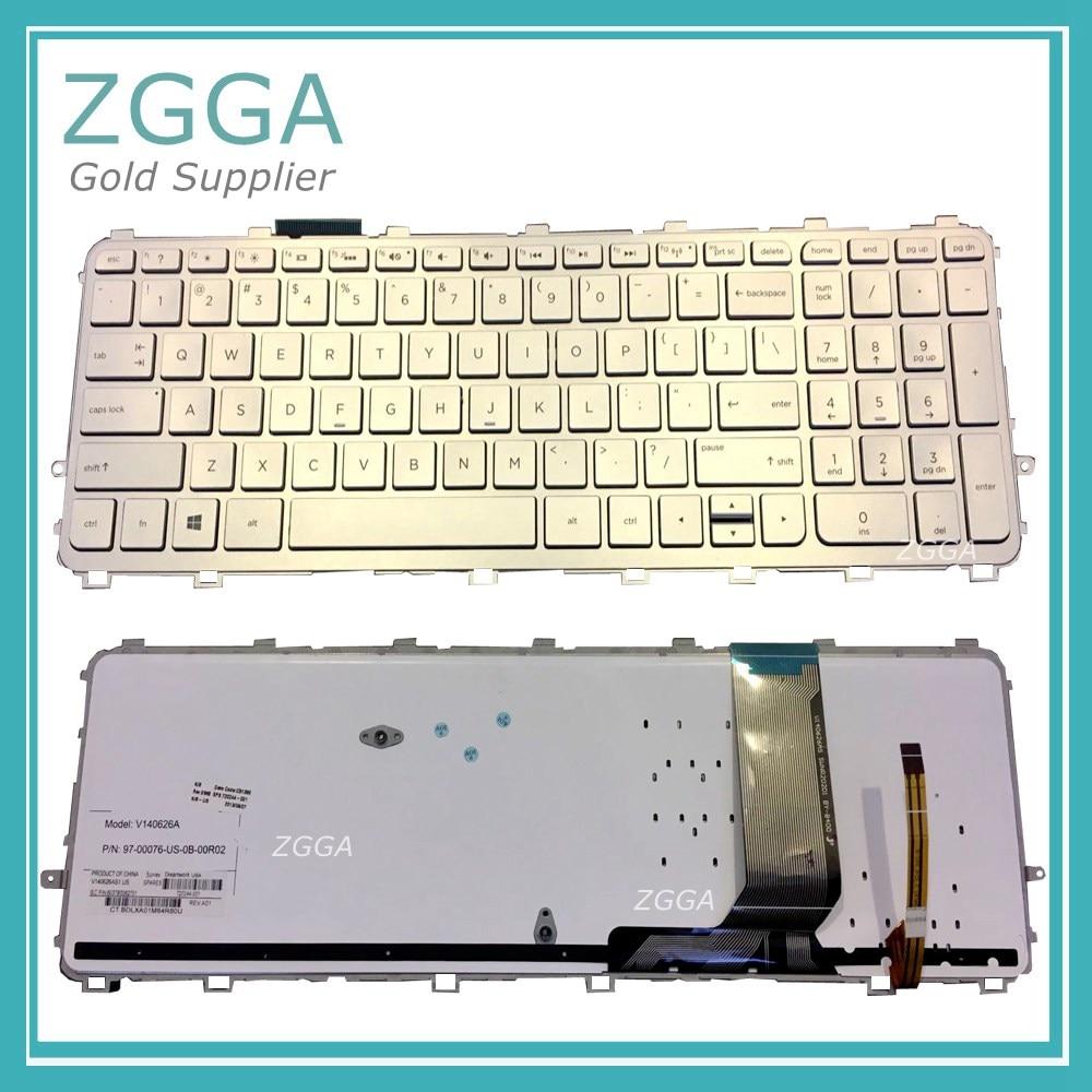 Genuine Laptop Keyboard for HP ENVY M6-N M6-N015DX M6-N113DX M6-N168CA M6-N000 M6-N010DX M6-N012DX M6-w103dx US Backlit NEW крепление для жк дисплея ноутбука for hp hp m6 envy m6 m6 1000 m6 2000 686913 001 m6 m6 1000 m6 2000