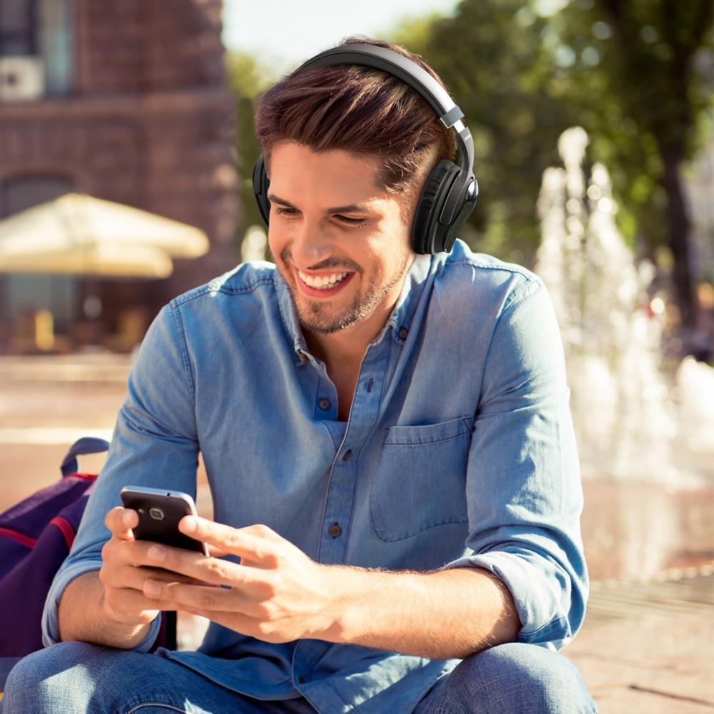Original Mpow H5 2nd génération ANC sans fil Bluetooth casque filaire/sans fil avec micro sac de transport pour PC iPhone Huawei Xiaomi - 5