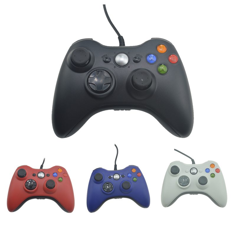 For Xbox 360 Controller USB Wired Gamepad Controle Joystick For XBOX360 Game Controller Joypad Game Accessory for pc retro handheld usb gamepad classic controller for saturn system style high quality wired game controller joypad for mac