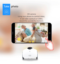Profession RC robot Ranababy Mobile camera house robot Family inspect smartphone remote control Intelligent Safeguard RC Robot