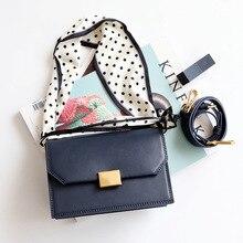 купить Fashion Silk cloth shoulder strap Crossbody Bags For Women Genuine Leather Shoulder Bag Flap Luxury Handbags Women Bags Designer по цене 3405.4 рублей
