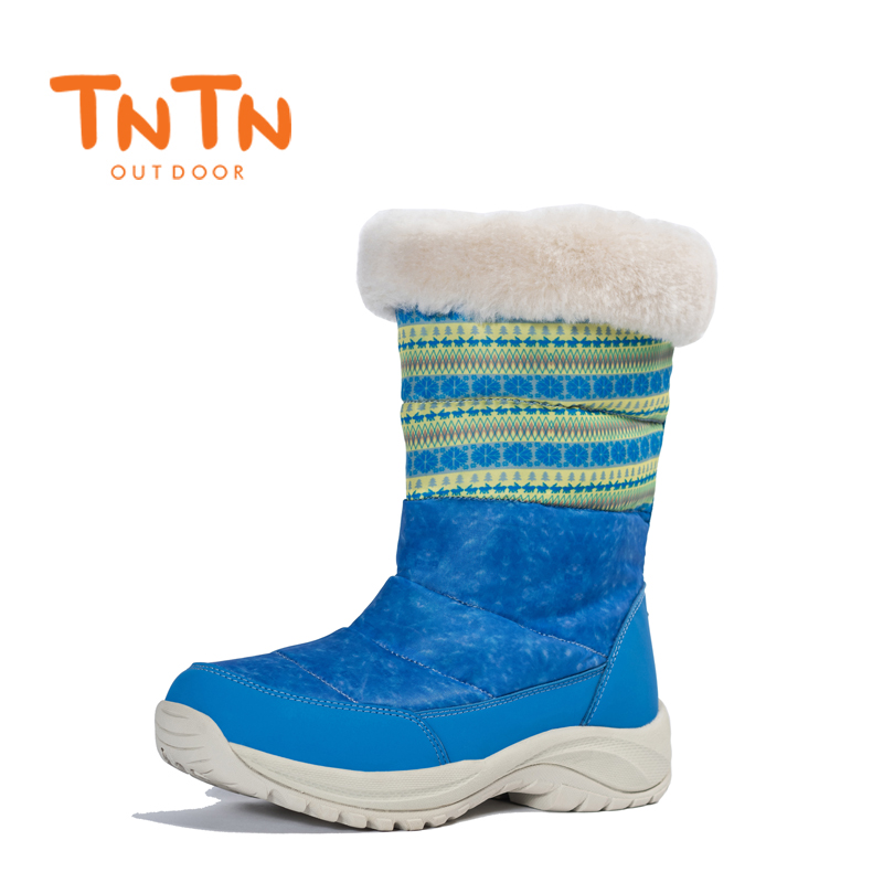 WomenS Ladies Ducks Down Warm Winter BootS Waterproof Shoes Snow Wools Skiing 100% High Quality Leisure New