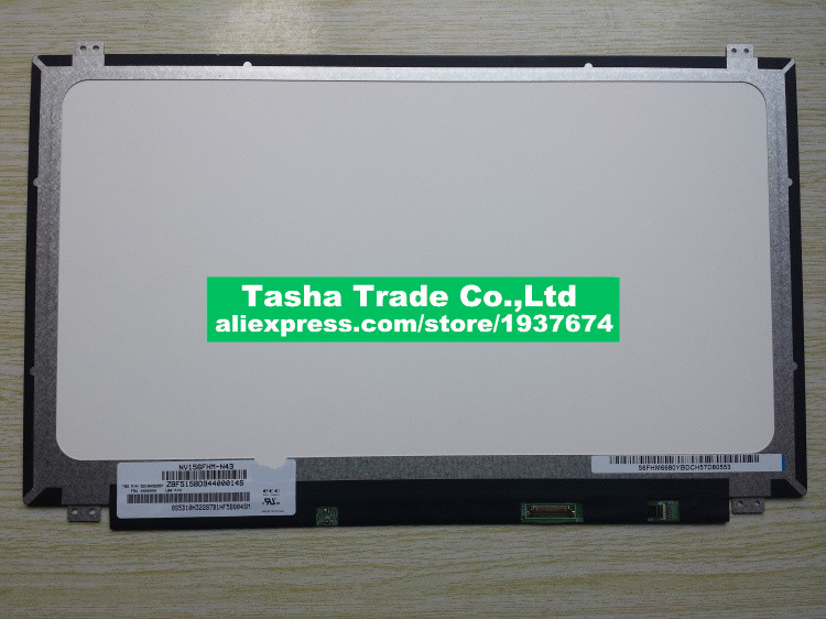 NV156FHM-N43 BOE FHD LCD Screen Display 1920*1080 eDP 30pin Matte IPS Screen For lenovo Y50 upgrade NV156FHM N43 nv156fhm n61 nv156fhm n61 led screen lcd display matrix for laptop 15 6 30pin fhd 1920x1080 matte replacement ips screen