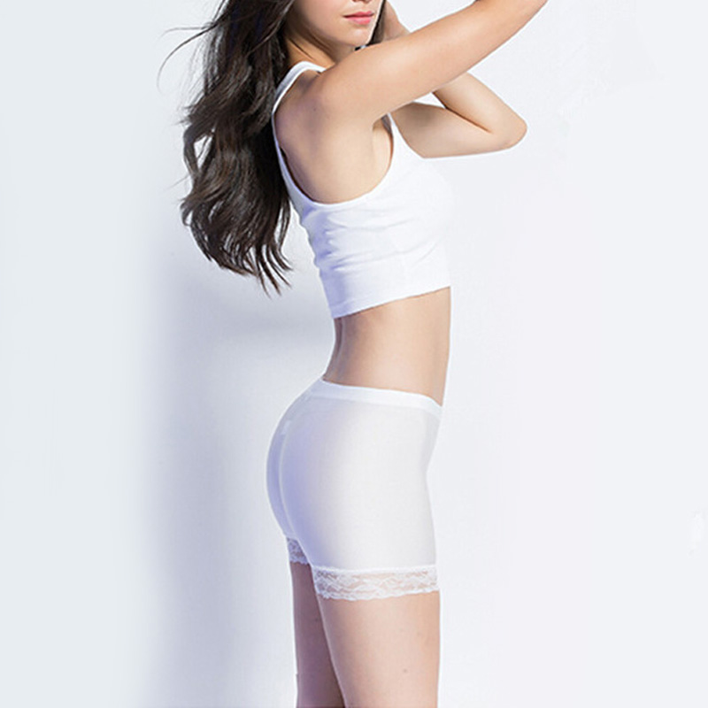 Women 39 s Shorts Plus Size Safety Underwear Sexy Lace Comfortable Solid Color Tight Smooth Girl 39 s Short Leggings in Shorts from Women 39 s Clothing