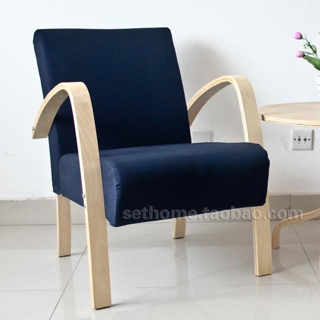 Ikea sill n cafe silla sillones de madera peque o sof con for Sillones para apartamentos pequenos