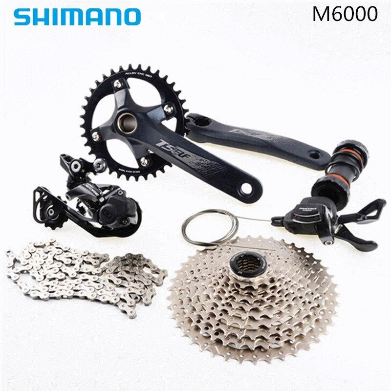 SHIMAN0 M6000 SRAM NX Groupset 1x11 10 s Groupset MTB GX 170 172,5 175mm Mountainbike Kit fahrrad Übertragung Fahrrad teile