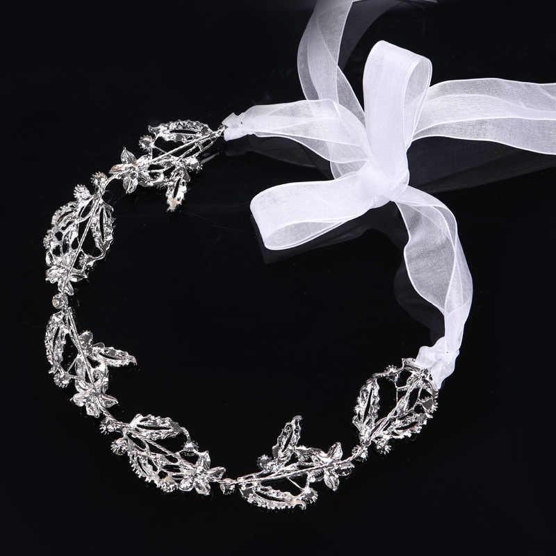 Hair Jewelry For Women Girls Delicate Crystal Rhinestone Headbands Handmade  Bride Tiaras Romantic Wedding Hair Accessories c9ffcd5911ef