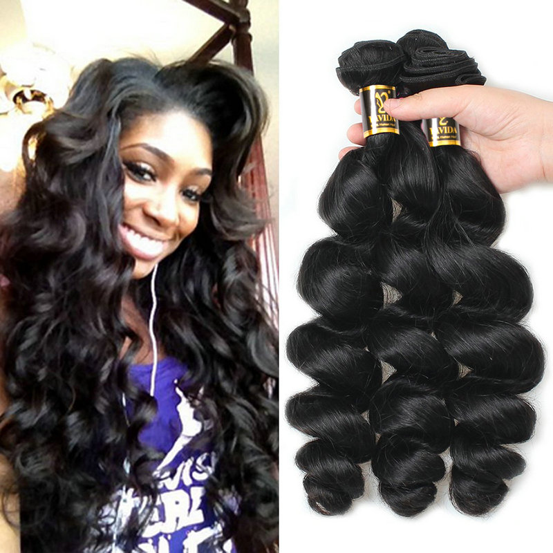 Human Hair Weaves Lolly Hair Malaysian Kinky Curly Hair Natural Black Color Remy Hair Bundles 8-28 Inch Human Hair Weave1 Bundle Deals Products Hot Sale