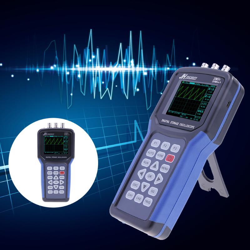 JDS2023 Handheld Oscilloscope 20MHz Bandwidth 200M Sampling Rate 2K Storage Depth Oscilloscope 1 Channels 3.2 inch Oscilloscope 500pcs 1210 1 2k 1k2 1 2k ohm 5